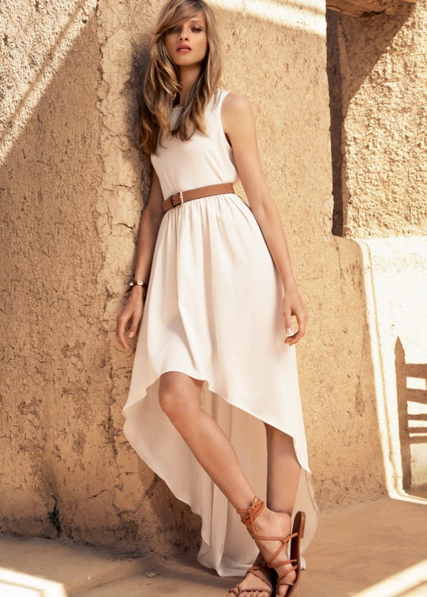 2. The Casual White Dress - 7 Types of Dresses Every Woman Should…