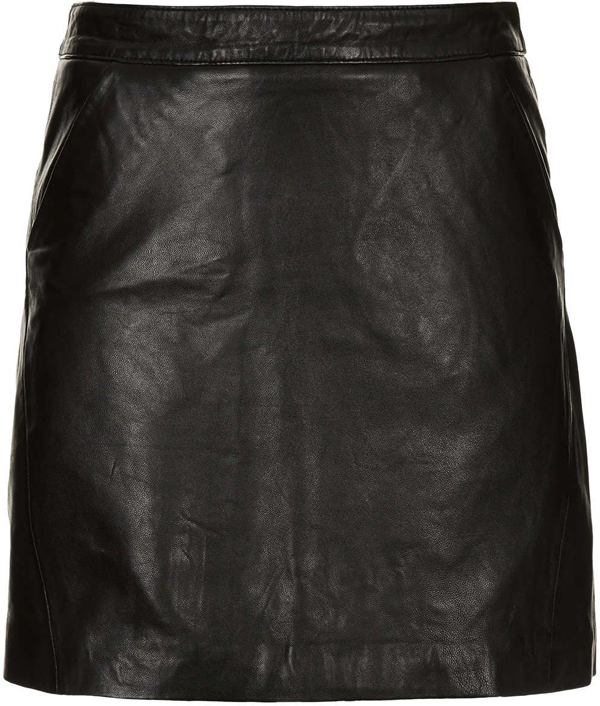 Leather a-line Skirt - 9 Sleek Skirts That Are Essential for Your…