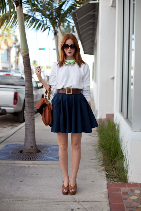A-line Skirt - 9 Basic Clothing Items to Have in Your Closet ... …