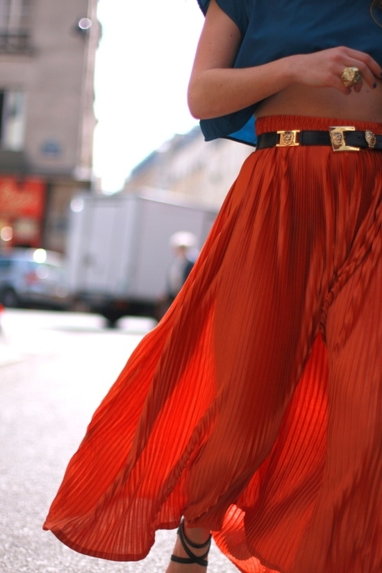 Long Skirts/Dresses - 7 Fashion Trends I Plan on Rocking This…