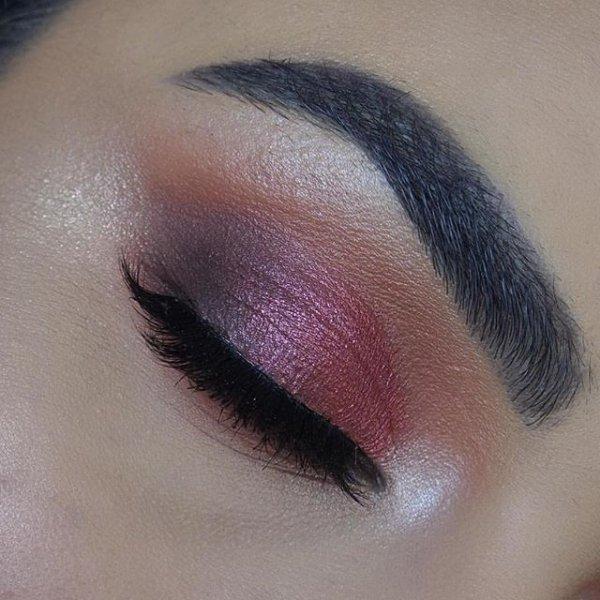 color, eyebrow, pink, purple, eye,