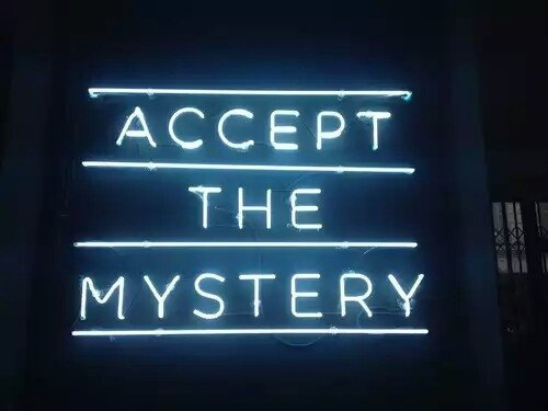 """""""Accept the Mystery"""""""
