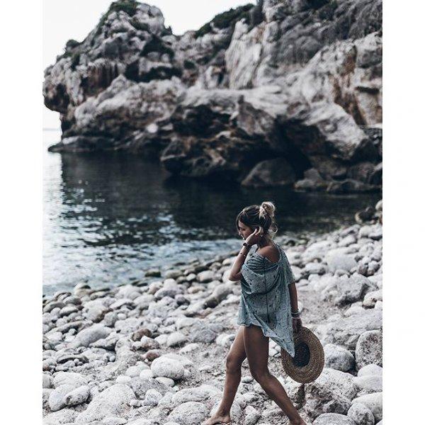 Cala Deià, rock, extreme sport, coast,