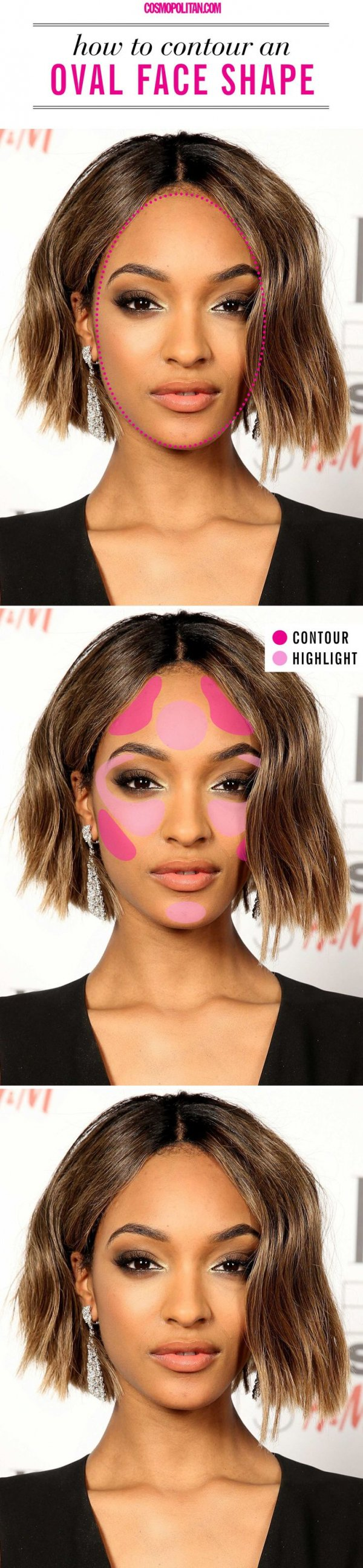 How to Contour if You Have an Oval Face Shape