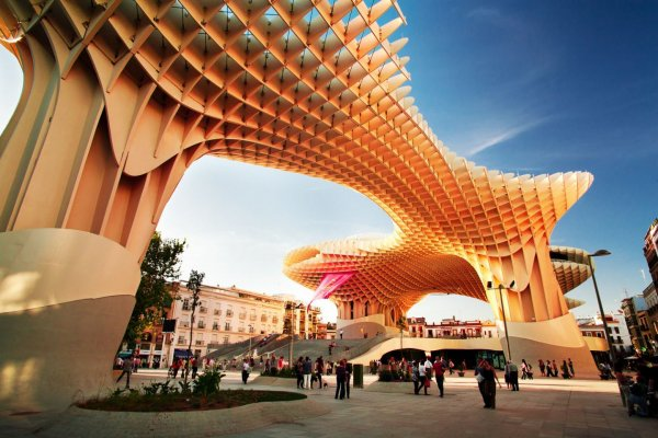 Metropol Parasol at Setas De Sevilla, Spain
