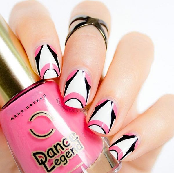 nail, finger, pink, nail care, manicure,