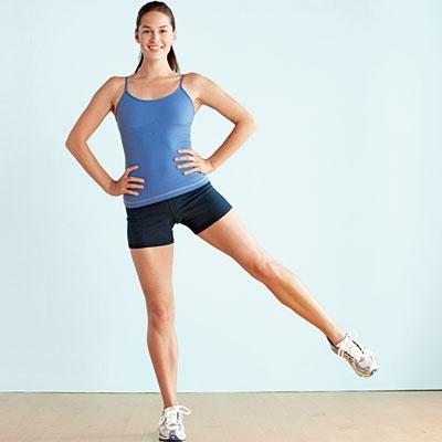 Standing Leg Lift - 9 Easy Ways to Sneak in Exercise ...