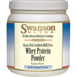 Swanson Vitamins Grass- Fed Whey Protein