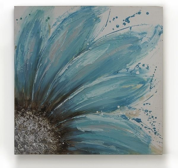 Blue sunflower 31 paintings you can copy for your own for Paintings to copy