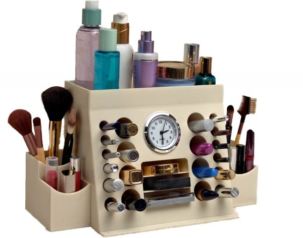 Lips-n-Eyes Two Piece Makeup Organizer