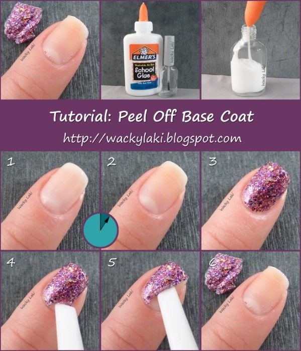Elmer's Glue,finger,nail,nail care,nail polish,