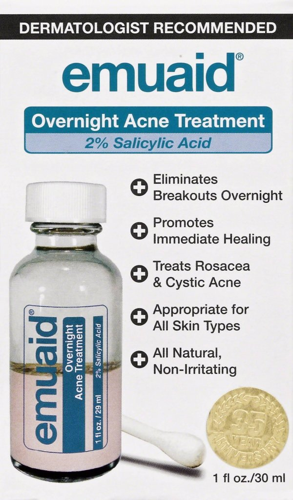 Emuaid Overnight Acne Treatment You Can Now Get This