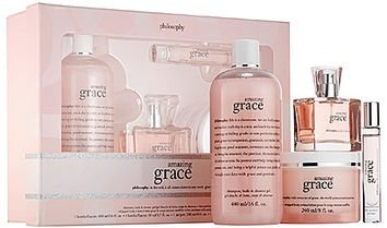 Philosophy Amazing Grace Fine Perfume Jumbo Layering Gift Set -…
