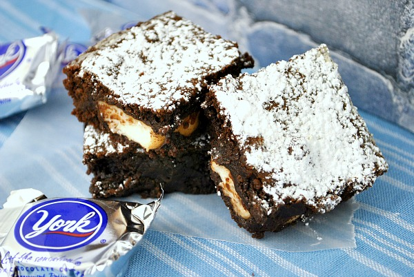 York Peppermint Patty Brownies