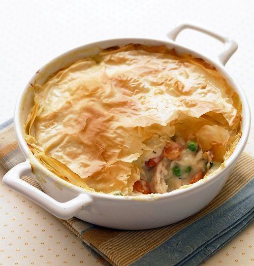 Lighter Chicken Potpie - 7 down-Home Low Calorie Comfort Foods for…