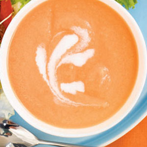 Chilled Carrot-Ginger Soup