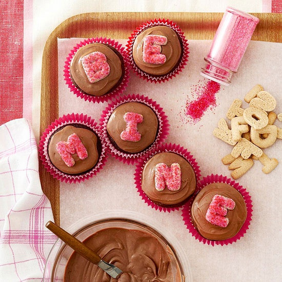 Love Letter Cupcakes...