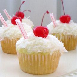 ... pina colada cupcakes pina colada cupcakes moist source cupcake pina