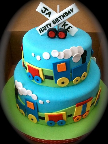 Images Of Train Birthday Cakes : Train Cake? - 7 Amazing Birthday Cakes You ll Want to Try