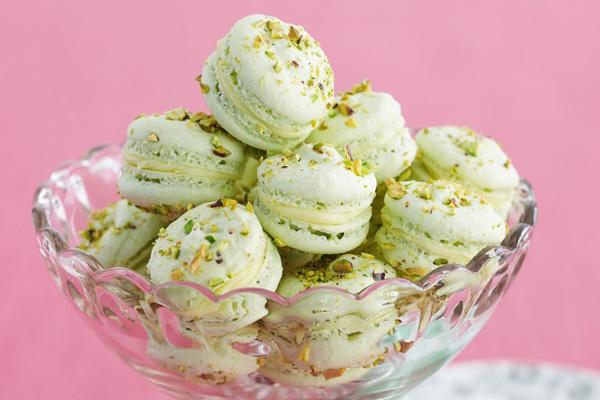 10. Pistachio Macarons - 10 Tempting Macaron Recipes ... → Food