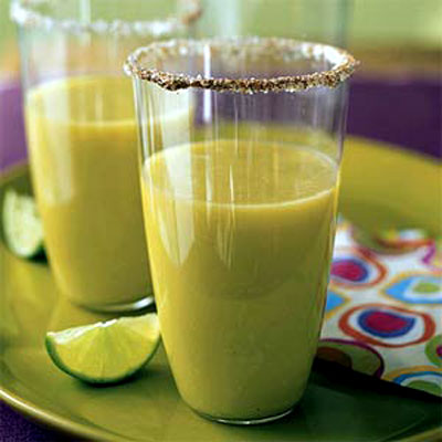 Mango-Avocado Skinny Margarita...