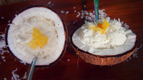 Coconut Almond Greek Yogurt