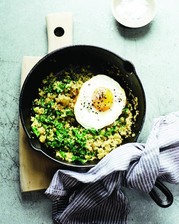 Savory Quinoa & Egg