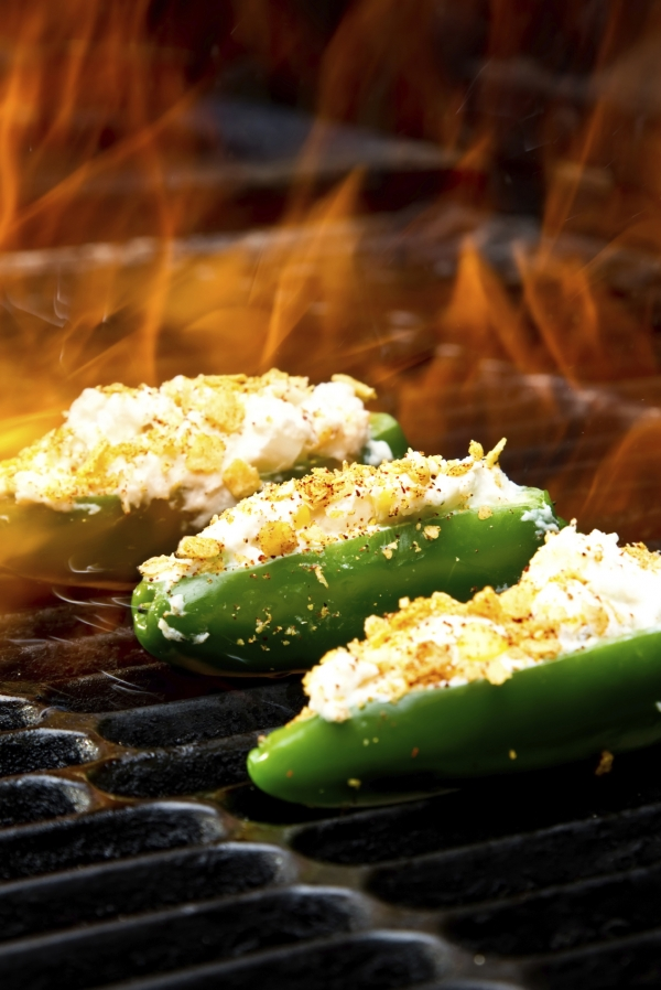 Grilled Pepper Poppers