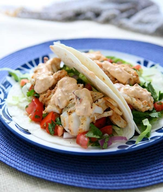 7 delicious and fresh new fish recipes to try food for Baja fish tacos