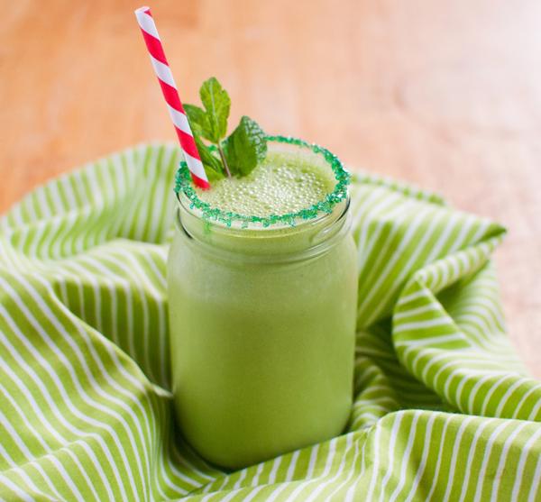 Healthy Protein Shamrock Shake - 7 Heavenly Breakfast Ideas That…