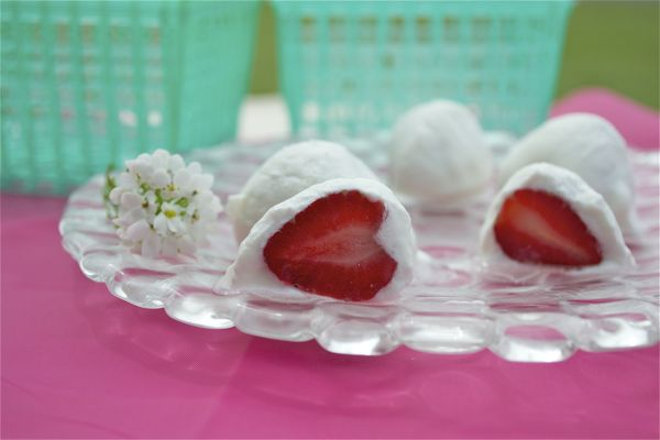 Vanilla Yogurt Strawberries
