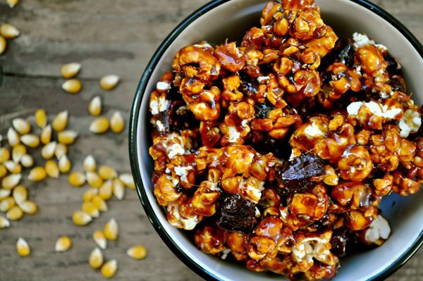 Bacon Caramel Popcorn