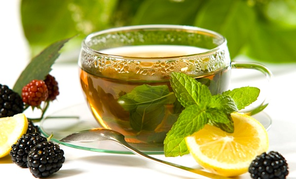 Green Tea with Stevia and Lemon