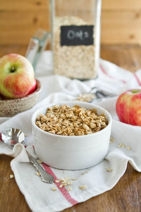 Baked Apple Pie Oatmeal - 7 Vegan Oatmeal Recipes That Are Healthy ...
