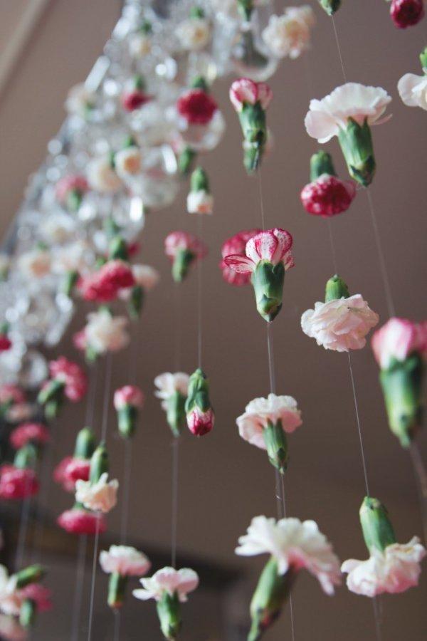 Floral Chandelier Garland
