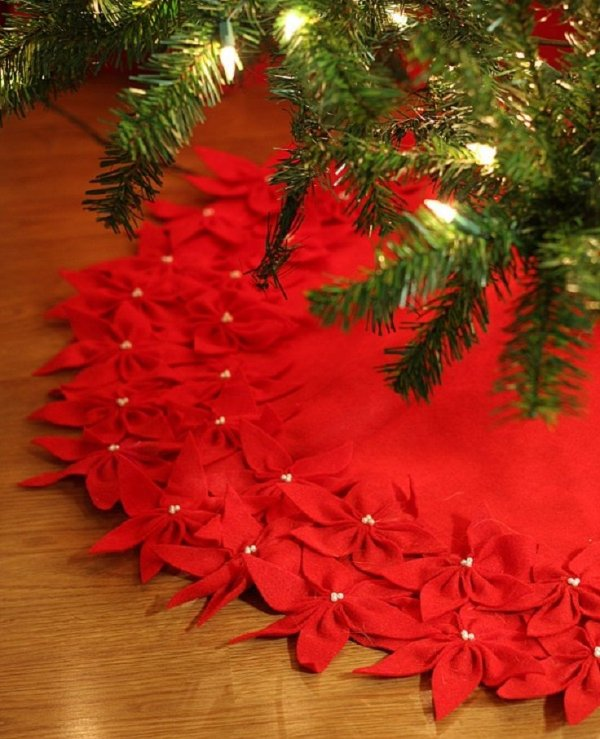 Red Poinsettas