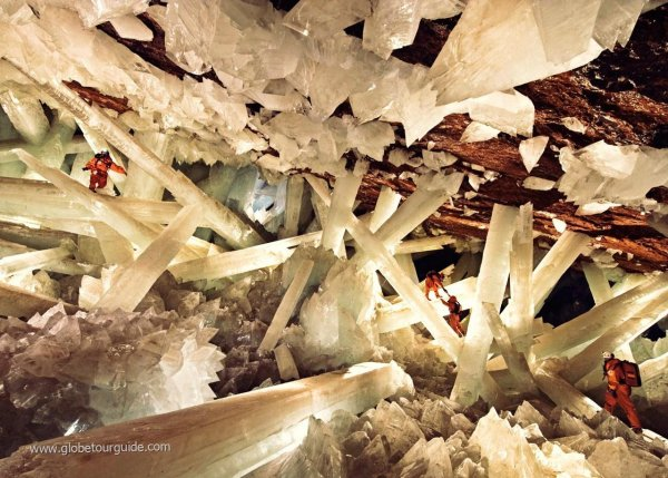 The Cave of the Crystals in Mexico