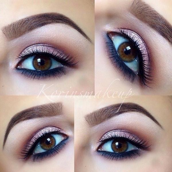 rose gold eye makeup looks mugeek vidalondon. Black Bedroom Furniture Sets. Home Design Ideas