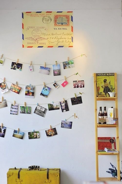 Vacation photo display inspiring decor ideas to satisfy for Travel gallery wall ideas