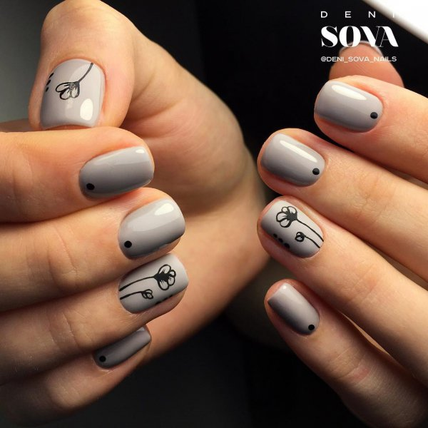 Gorgeous nail art for girls with short nails nail finger nail care manicure hand prinsesfo Images