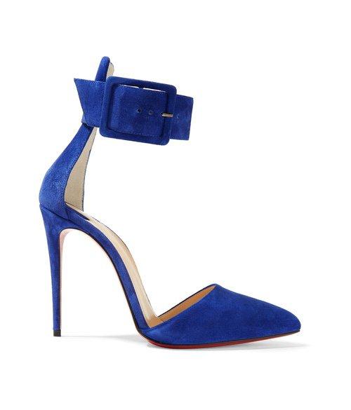 blue, cobalt blue, footwear, electric blue, high heeled footwear,