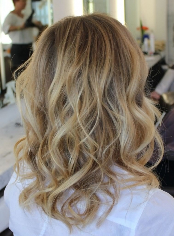 30 Medium Hair With Loose Waves Summer Hair Loose