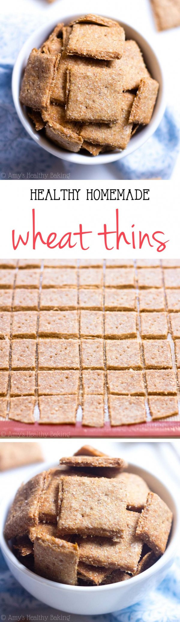 Clean-Eating Wheat Thins