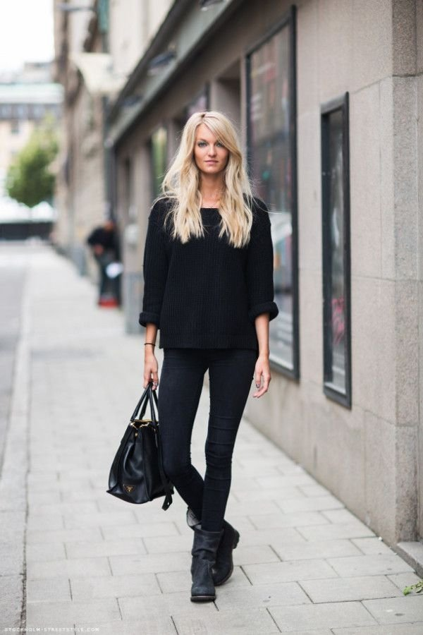 All Black A Definitive List Of Comfy And Casual Street Style