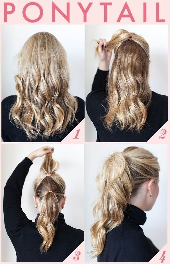 Groovy 29 Ways To Spice Up Your Ponytail Hair Hairstyles For Men Maxibearus