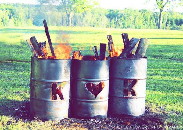 38 If Your Outdoor Wedding Venue Permits, Hold a Bonfire  51 Ideas
