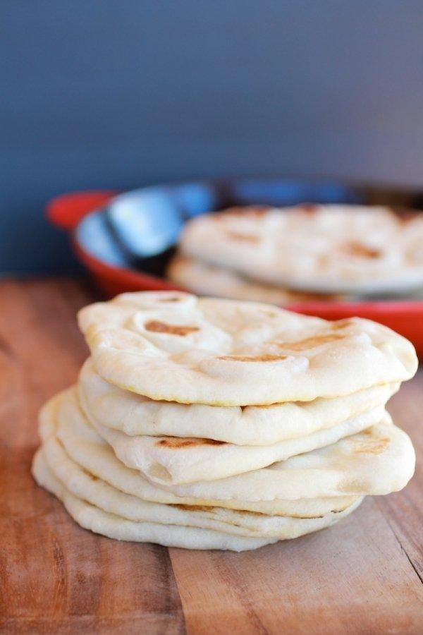 Traditional Greek Pita Bread