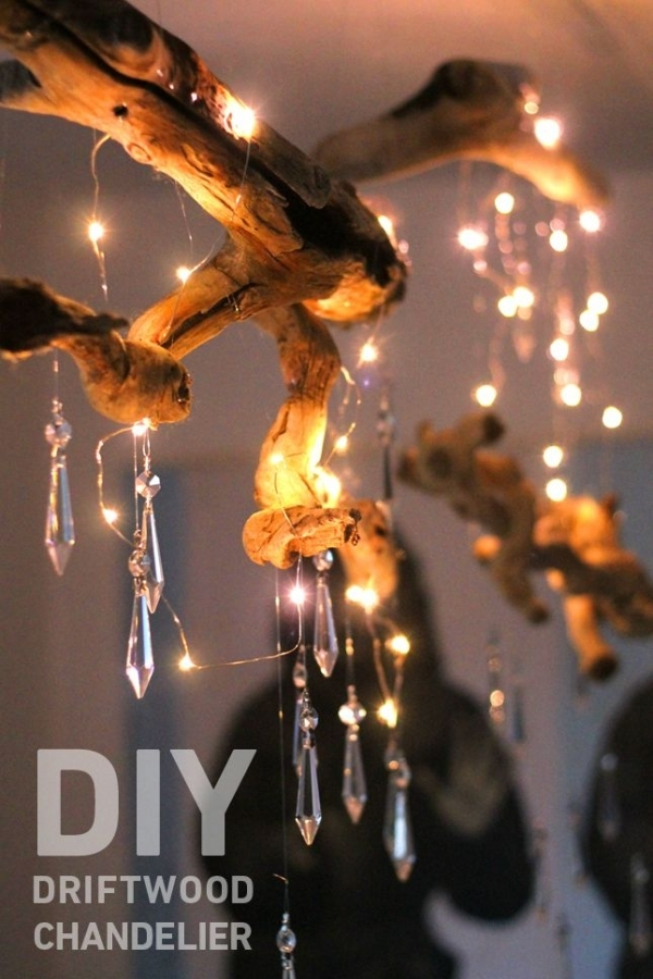 34 DIY Chandeliers to Light up Your Life ... → 🔧 DIY