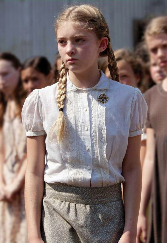 Primrose Everdeen in the Hunger Games Series