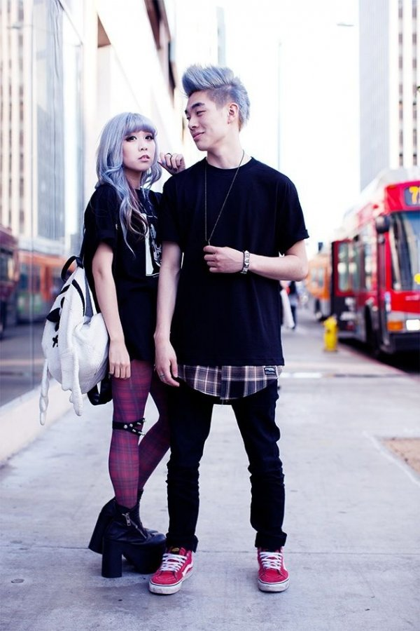Goth Love Is Being Fashionable Together Fashion
